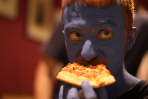 Blue Pizza 1